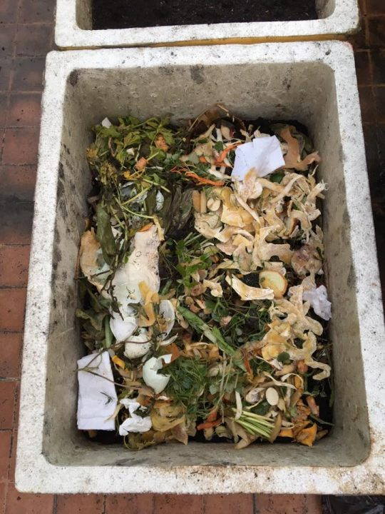 Cách làm phân trộn từ rác thực phẩm